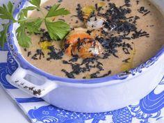 Receta | Crema de setas con zamburiñas - canalcocina.es