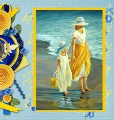 Divagar entre PINTURAS e outras ARTES: Em Amarelo - Vestidos da cor da alegria Paul Cezanne, Claude Monet, Pablo Picasso, Blog, Painting, Guatemala City, Tiger Eyes, Beautiful Birds, Art Production