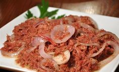 "Bully Beef (aka Corned Beef) is a classic, simple and affordable dish in many Caribbean households. Its diverse quality of being able to satisfy the breakfast, lunch, snack and dinner cravings, makes it one of those ""Jack of All Trade"" dishes. Folks always say ""once you have bully beef in your house, you will never go hungry.""      https://www.jcskitchen.com/Bully-Beef"