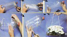 Simple plantera de botella