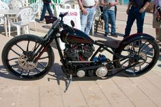 The Garage by Austin Weiss  builds a show-winning board track racer with a modern S Knucklehead engine that's one of two in the world.