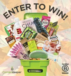Set the clocks and #FallBack. We're launching our Fall Back into Composting giveaways November 4th-14th with some of our fellow certified #BCorp companies! Stay tuned for chances to win great prizes including our grand prize giveaway of a CompoKeeper overflowing with incredible goodies. #giveaway #fallback #keepitclean #compost