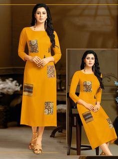 Moof Fashion Beauty kurti Full Wholesale Catalogue Moof Fashion launched unique collection of Ethnic Kurti. Beauty full set has 9 beautiful designs. It has Reyon Top with Print. Beauty is Available in L, XL, XXL. Printed Kurti Designs, Khadi Kurta, Ethnic Kurti, Ikkat Dresses, Kurti Designs Party Wear, Kurti Collection, Dress Neck Designs, Edwardian Dress, Special Dresses