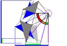 Theo Jansen machine from http://www.mechanicalspider.com/comparison.html