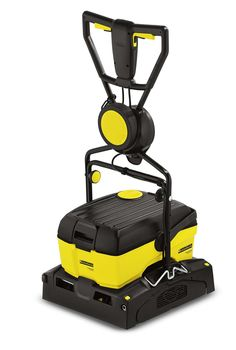 BR 40/10 C Compact Commercial Floor Scrubber thoroughly deep-cleans all your hard floor surfaces then leaves them perfectly dry, safe & hygienic. This compact scrubber is engineered to be easy to transport and even easier to use with snap on wheels that conveniently stow on the operating handle. Ideal for use on hard floors and tile, the BR 40/10 C is perfect for use in institutions, restaurants, schools, stores and even homes to maintain the appearance of floors and keep your premises…