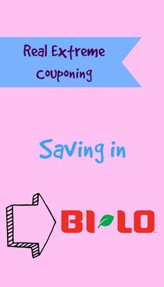 Here are some great ways to save money in Bi Lo!