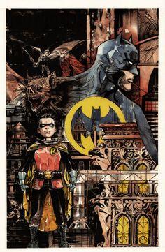 Batman By Dustin Ngyuen