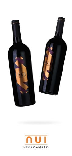NUI - Negroamaro Salento on Packaging of the World - Creative Package Design…