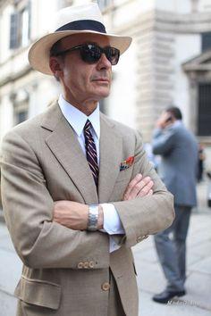 Уличная мода: Уличный стиль недели мужской моды в Милане 2014
