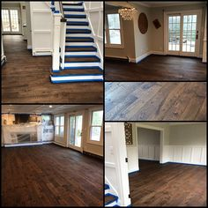 Jacobean Stain Completed Friday In Smithtown Wrapping It Up Today With