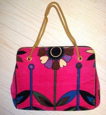 1960s Emilio Pucci purse  - Courtesy of cur.iovintage