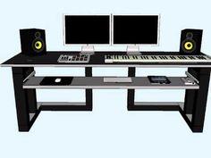 New Home Studio Desk - YouTube