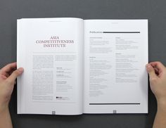 Compendium Of Research 2009 - 2010 by Ming Chew, via Behance