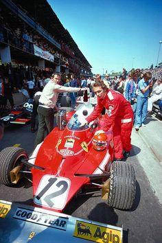 Niki Lauda Ferrari 1975