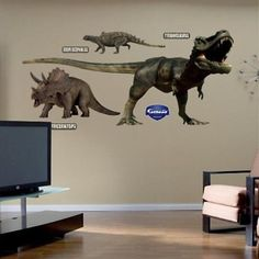 Other Nursery Wall D cor 20430: Fathead Dinosaurs Group Two Wall Graphic -> BUY IT NOW ONLY: $113.11 on eBay!