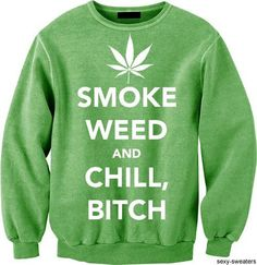 Only if the sweater was black and words were green . .