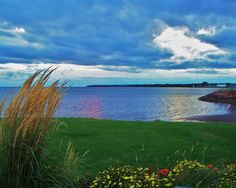 Red, blue, and green at their best. Prince Edward Island