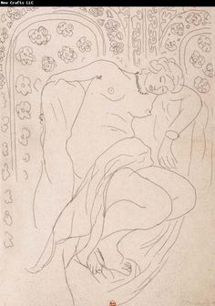 Art - drawing - by Henri Matisse