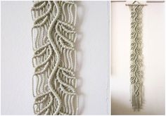 Macrame Wall Hanging - Sprig - Handmade Macrame Home Decor