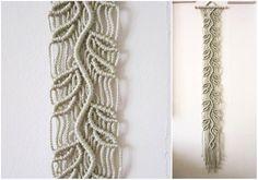 Macrame Wall Hanging - Sprig - Handmade Macrame Home Decor