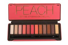 BYS Peach Eyeshadow Palette Tin with Mirror Applicator 12 Matte & Metallic Shades BYS Shimmer Eyeshadow Palette, Peach Eyeshadow, Pigment Eyeshadow, Eyeshadow Pallettes, Eyeshadow Makeup, Peach Palette, Eye Palette, Makeup Palette, Korean Eyeshadow