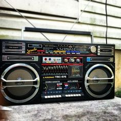 BoomBox Ghetto Blaster! #Music #HipHop
