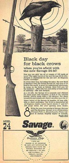 Savage's Model 24 Rifle / Shotgun (1960)