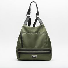 Tili backpack by Misako is a sports rucksack with a functional design made of nylon. Ethnic Patterns, Sling Backpack, Backpacks, Bags, Accessories, Backpack, Green, Totes, Handbags