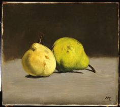 Édouard Manet, Two Pears, 1864