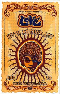 19.8.2003, love with arthur lee; usa, west hollywood, house of blues; (db)