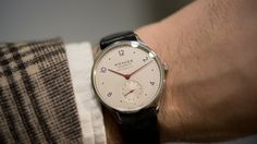 HODINKEE: Hands On With The New Nomos Minimatic, With Ultra-Thin Self-Winding Caliber