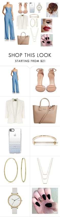 """Sem título #160"" by dhubezerra ❤ liked on Polyvore featuring Lovers + Friends, Stuart Weitzman, Jolie Moi, MANGO, Casetify, MIANSAI, Bling Jewelry, ERTH and Skagen"