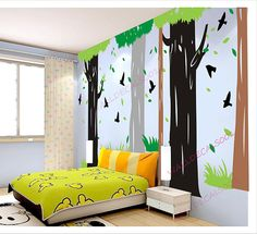 Tree Wall Decal  kids decal  Wall sticker nursery by walldecals001