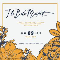 Events – Dallas – The Boho Market