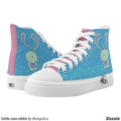 Little cute rabbit printed shoes