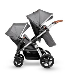 Add a tandem seat unit to use Wave in twin pushchair mode