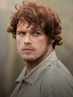 Sam Heughan plays Jamie Fraser on Outlander