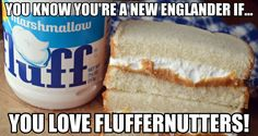 Made with peanut butter and Marshmallow Fluff on white bread, the Fluffernutter sandwich is a New England classic with a history as long as it is sweet.