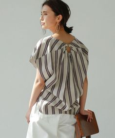 Blouses for women – Lady Dress Designs Blouse Styles, Blouse Designs, Fashion Details, Fashion Design, Fashion Trends, Young Fashion, Lovely Dresses, Casual Tops, Plus Size Women