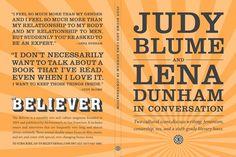 Girls's Lena Dunham goes in conversation with Judy Blume: http://www.dazeddigital.com/artsandculture/article/18485/1/lena-dunham-judy-blume