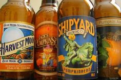 Pumpkin ale.  My favorites are Pumking from Southern Tier Brewing Co and  Imperial Ale from Weyerbacher.  Cheers!