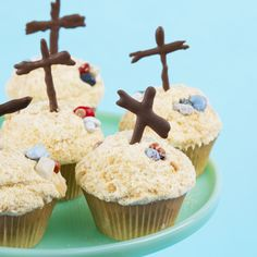 religious easter cupcakes | Ingredients and Supplies