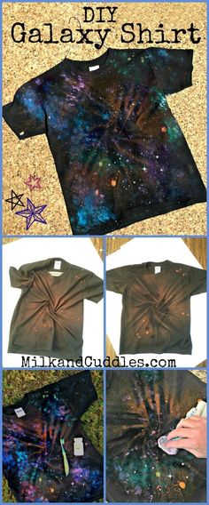 Do you have a science or astronomy fan in your house? We do! And I love supporting the kiddo and her quest to learn more about the stars. Suddenly nothing is cooler than a movie or TV show set in space! Star Wars anyone? Dr. Who? She is in! Our families love of all things sci-fi, is what inspired today's easy to make Galaxy shirt Tutorial! So make this shirt – and boost your galactic swagger Dr. Who or Star Wars fan approved! ‪#‎ForceFriday‬ ‪#‎StarWarsEvent‬ ‪#‎Starwars