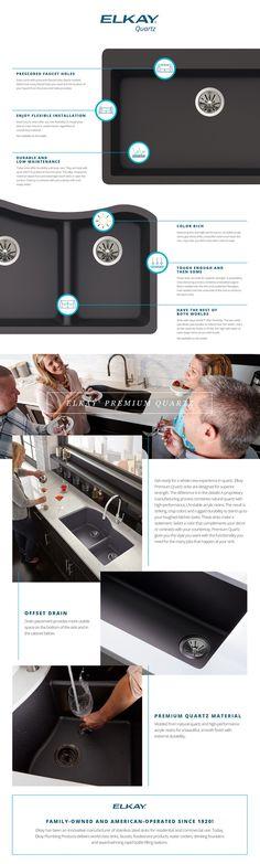 Elkay Quartz Kitchen Sink