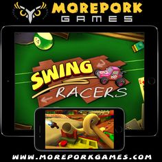 Swing Racers is currently in the approval queue at Apple and should be released soon, but in the mean time, you can listen to the soundtrack by the awesome Justin Mullins! I can't pick a favourite - they're all great and suit the whacky racing perfectly smile emoticon  Justin has been in the industry for a long time and has done audio for all of the Bioshock Games, Borderlands: The Pre-sequel, The Bureau: XCOM Declassified and more…