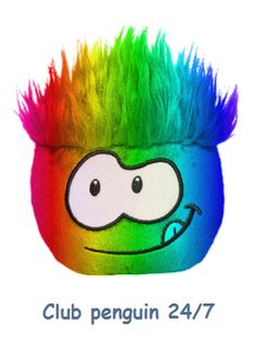 puffles are pets kids can have online. rainbow puffles are only available to members and so are some other ones non members are only allowed to have red and blue puffles Penguin Animals, Funny Animals, Club Peguin, Animal Jam, Best Games, Cool Cats, Boy Birthday, Penguins, Red And Blue