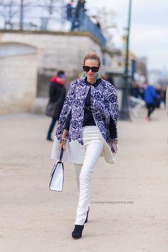 Monica Mendes - Paris Fashion Week Fall/Winter 2014-2015 Street Style