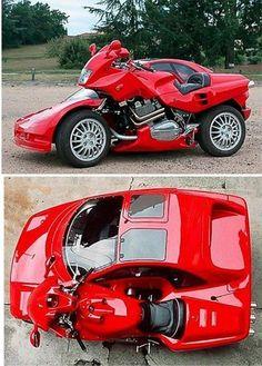 "Moto gybrid. Ferrari  ""handmade"")"