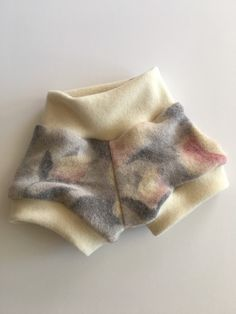 Recycled Wool Bubble Shorts 6-12 Months