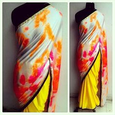 diy saree